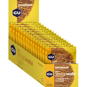GU Energy StroopWafel Box 16x30/32g Gingerade
